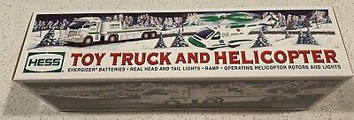2006 Hess Toy Truck and Helicopter - Mint In Box