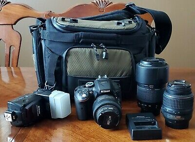 Nikon D5300 DSLR Camera And Accessory Bundle