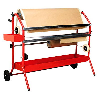 """TCP Global Mobile 36"""" Multi-Roll Masking Paper Machine with Storage Trays – Auto"""