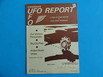 Canadian Ufo Report- A Study Of Flying Saucers - Paperback Vol.2 No.7 1973