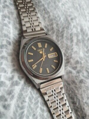 Vintage Seiko 5 Automatic 21 Jewels Day/Date, Gents Japan Watch