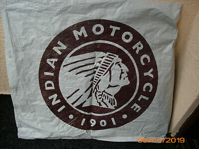 INDIAN MOTORCYCLE 1901 Logo Emblem 60 cm Durchmesser outdoor Plane wetterfest