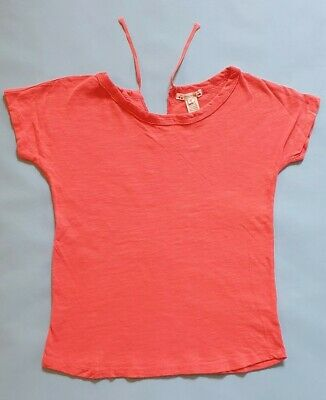 Bonpoint Girl's Pink Short Sleeved Top . Age 8 Good Condition