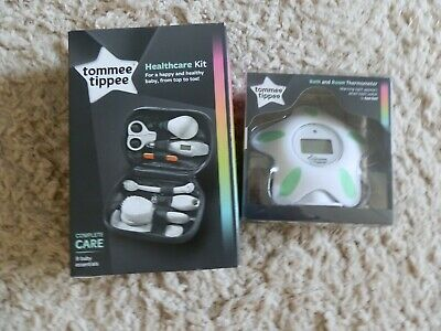 Tommee Tippee Healthcare Kit And Bath & Room Thermometer. New.