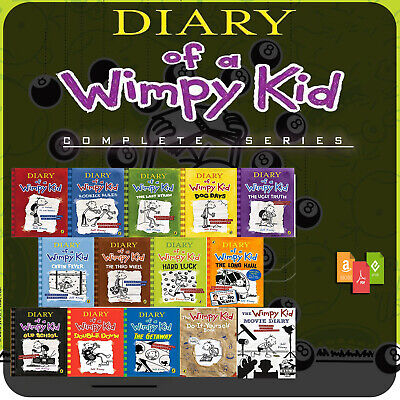 Diary of a Wimpy kid complete collection (14 books) [PDF] [EPUB] [MOBI]
