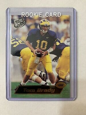 2000 Press Pass #37 Tom Brady New England Patriots RC Rookie
