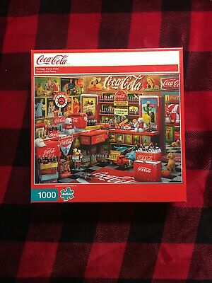 Buffalo Games Vintage Coca-Cola Jigsaw Puzzle 1000 Pc [New in Box] !!!