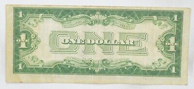 TOUGH 1928-B $1.00 Funny Back Silver Certificate Monopoly Money Collectible *497