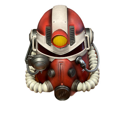 Official Fallout T-51 Nuka-Cola Power Armor Helmet w/pins, and poster, Collector