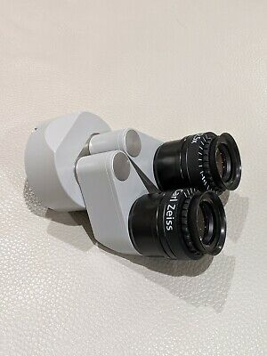 Carl Zeiss Assistant Binoculars w/12.5x Magnetic Eyepieces for OPMI Microscopes