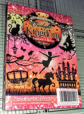 Hunkydory Little Book- The Little Book of Twilight Kingdom Sunset Edition LBK178