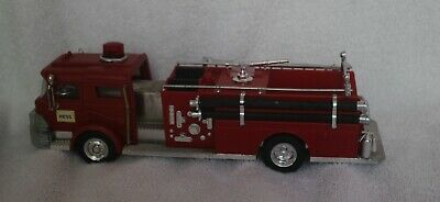 1970-71 Hess Toy Firetruck with inserts and Battery Card