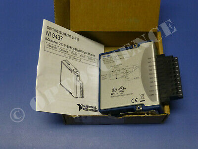 National Instruments NI 9437 cDAQ High-Voltage Digital Input Module
