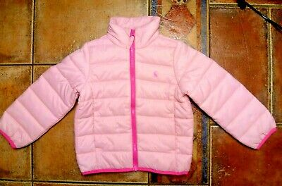 Joules girls jacket rose pink 3 years