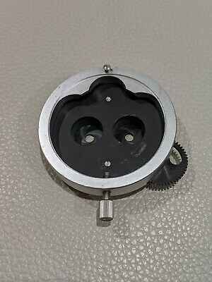 Carl Zeiss (Double/ Dual ??) Iris Diaphragm For Opmi Surgical Microscopes