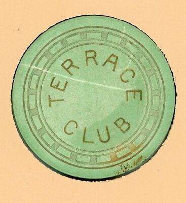 Illegal Casino Chip from The Terrace Club in Sandusky, Ohio