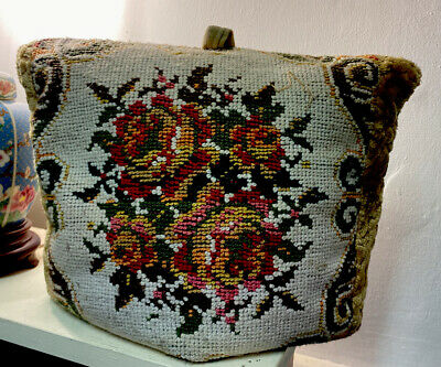 Large Vintage  Embroidered Tea Cosy
