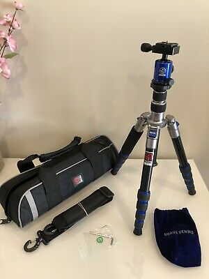 HORUSBENNU DSLR Traveler Camera Tripod M-2531T Blue with Ball Head LX-28T Blue