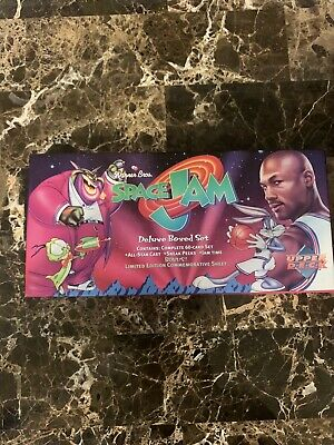 1996 Upper Deck Space Jam Complete 60 Card Box Set ( Michael Jordan) Read