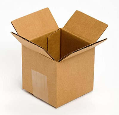 4x4x4 Cardboard Paper Boxes Mailing Packing Shipping Box Corrugated Carton