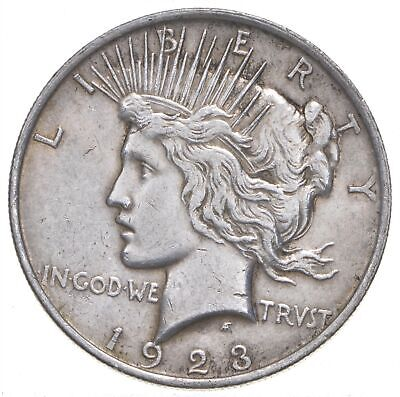 Early - 1923 - Peace Silver Dollar - 90% US Coin *364