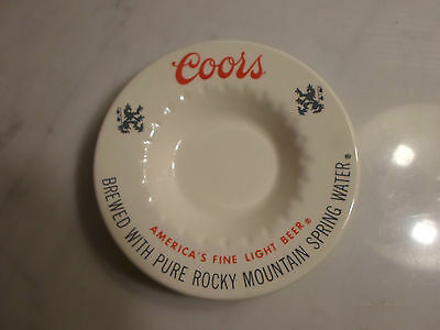 Coors Beer Ashtray