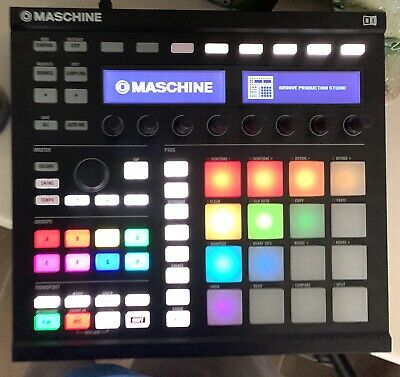 Native Instruments Maschine Mk2 Black w/Box (No Software!!!) Controller Only!