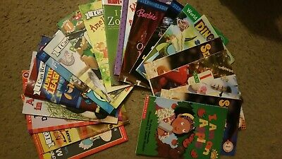 Lot Of 20 I Can Read - Step Into Reading Scholastic Level 1, 2 Books Set