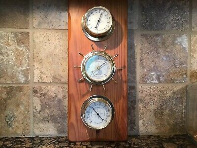 Vintage Springfield Weather Station  temperature, barometer, humidity