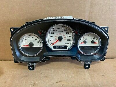 2006 Ford F150 King Ranch Dash Instrument Gauge Cluster Speedometer Mph