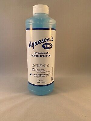 Aquasonic 100 Ultrasound Transmission Gel 1 liter Bottle Genuine New Parker Labs