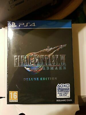 PS4 Final Fantasy VII 7 Remake Deluxe Edition