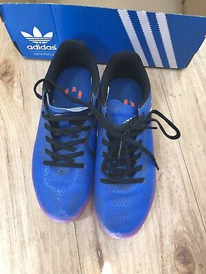 Adidas Girls Football Boots Blue and Pink. Size 4