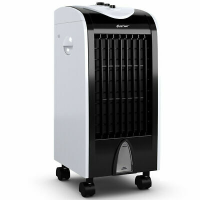Home Use Portable Air Conditioner Cooler Fan Humidify W/Filter Knob Control