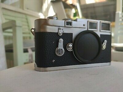 1957 Leica M3 35mm Rangefinder Film Camera DS - 865016