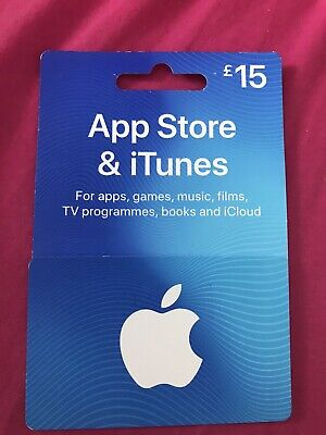Apple Store And Itunes £15 Gift Card