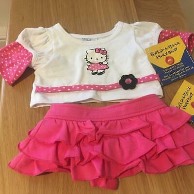 Build A Bear Factory Fab Hello Kitty Outfit With Tags