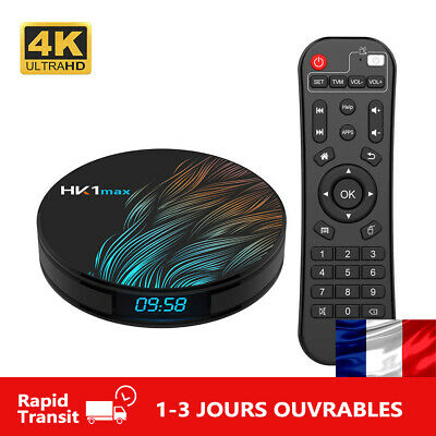 HK1 MAX Mini Android 9.0 Quad Core TV BOX BT 4.0 Wifi 2.4G/5G Media Set Top Box