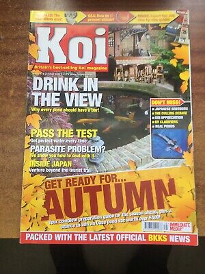 116 Koi Magazines Oct 2003 - Oct 2012 As New Not Soiled