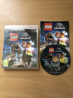 Lego Jurassic World PS3 Game Complete With Manual VGC SONY Park