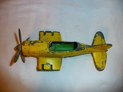 Antique Hubley Cast Iron Toy Airplane (FOR PARTS)