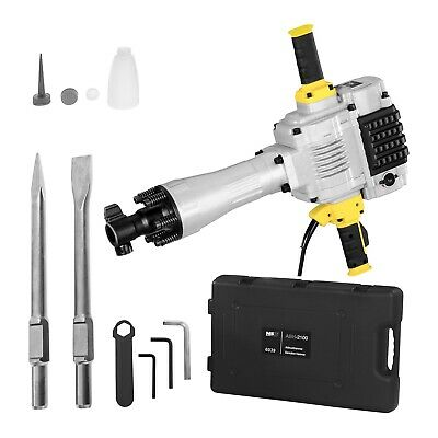 Demolition Hammer Breaker Chisellers Rotary Hammer Drill Set Case And 2 Chisel