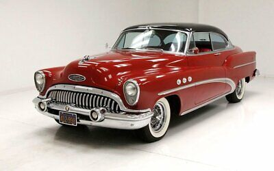 1953 Buick Super Riviera Great Matador Red Nicely Done Interior Excellent Restored Engine Bay