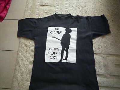 The Cure  Boys Don't Cry  Tee-Shirt Size Xl   Worn