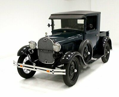 1929 Ford Model A Pickup Good Green Paint Nice Older Interior Runs Smoothly Good Undercarriage