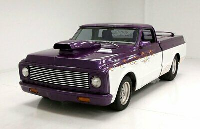 1971 Chevrolet C10  Chopped, Shaved And Tubbed Custom Interior Powerful 350ci Crate Motor