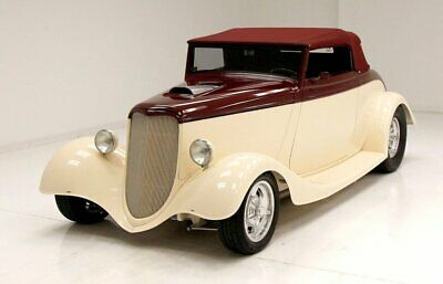 1934 Ford 40 Cabriolet  Excellent 2 Tone Paint Powerhouse 383ci V8 Comfortable Interior Wonderful Driver
