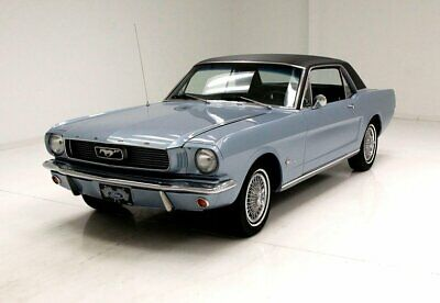 1966 Ford Mustang Coupe Athena Blue Sport 200 Great Interior Center Console