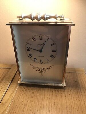 ANGELUS ELECTRONIC Battery Operated Carriage Clock In Working Order