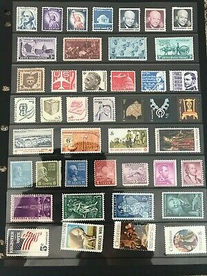 United States of America unfranked stamps off paper - Lot 6